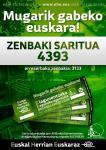 """4393 izan da """"Mugarik gabeko euskara"""" zozketako zenbaki saritua"""