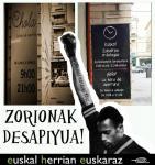 Eroskik kartelak euskaratzea lortu du Desapiyua-k
