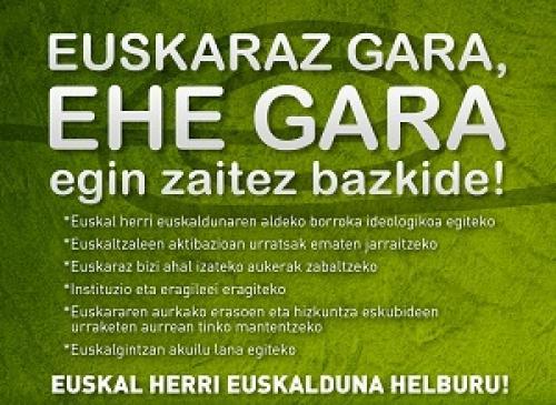 Bazkide kanpaina nazionala abiatu du Euskal Herrian Euskarazek