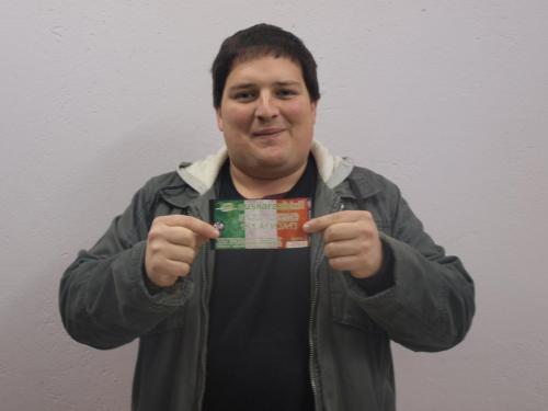 Zarauzko Asier Kortajarenak irabazi du EHEren zozketa